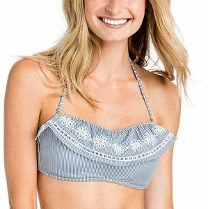 Vineyard Vines Stripe Bikini Top